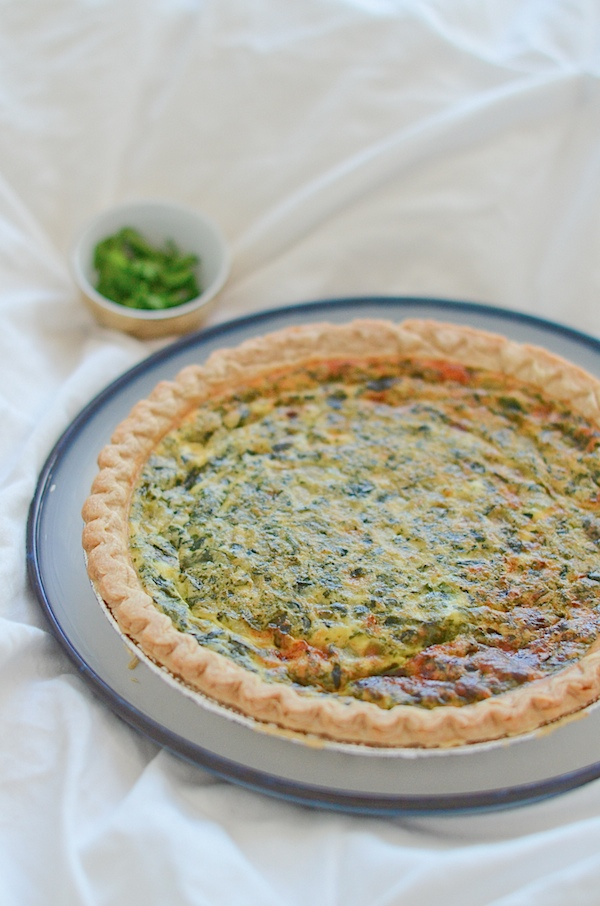 Spanakopita Quiche Recipe