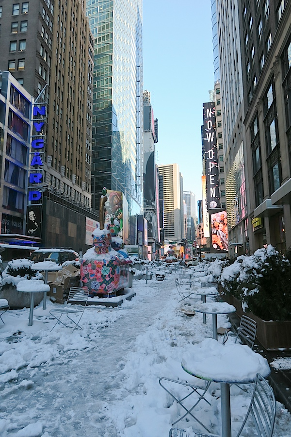Winter Eats and NYC Snow Day Photos {February 2017}