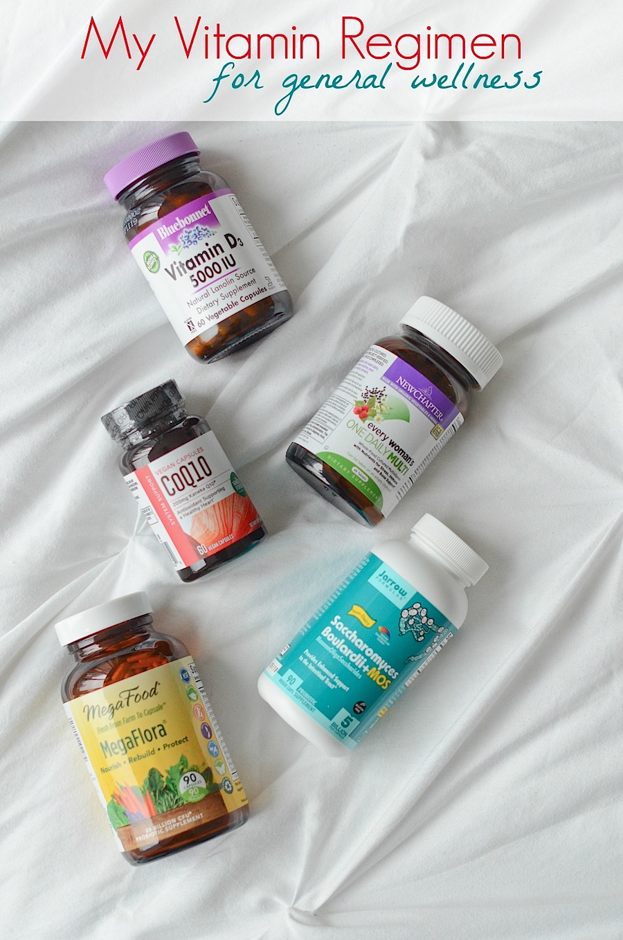 My Vitamin Regimen for General Wellness