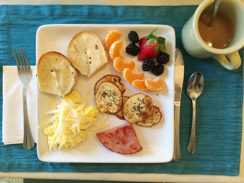 Eating with the Family {What I Ate}