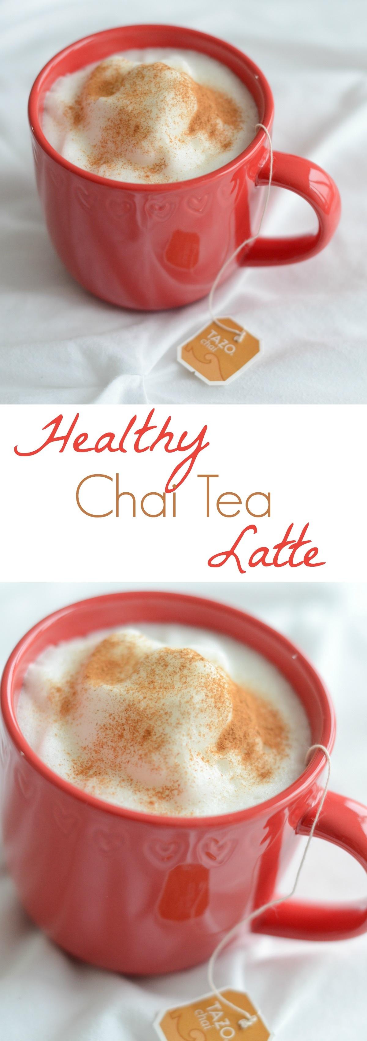 healthy chai tea latte recipe the chic life. Black Bedroom Furniture Sets. Home Design Ideas