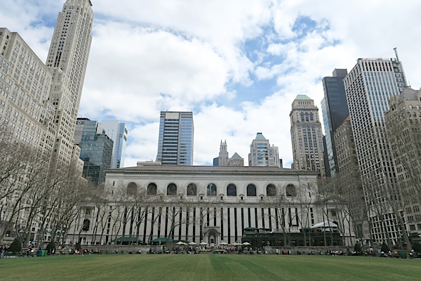 Lunch in Bryant Park {What I Ate Wednesday}