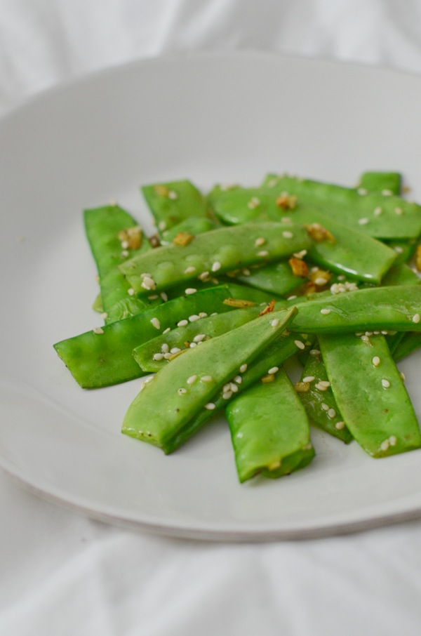 Sesame Ginger Snow Peas Recipe