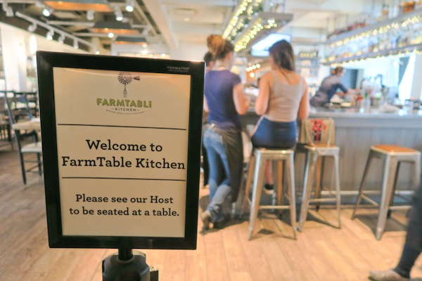 Sisters in Tampa: Day 3 (FarmTable for Dinner)