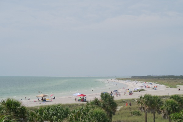 Sisters in Tampa: Day 3 (Fort De Soto Beach Sand Bar)