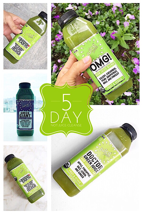 5 Day Not-Juice-Cleanse