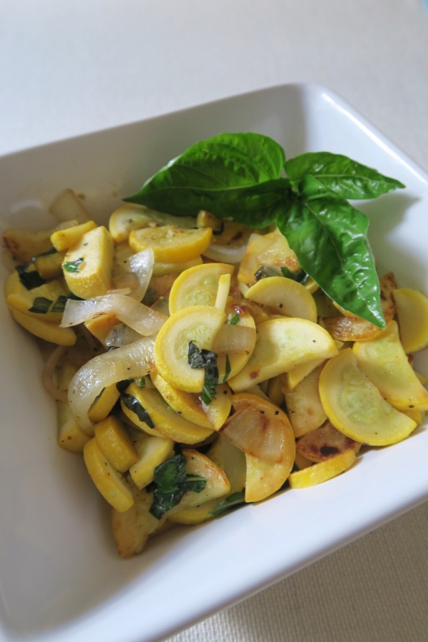 Quick Summer Squash Saute Recipe