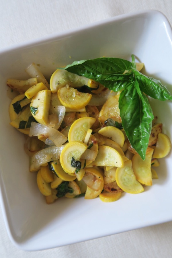 quick summer squash saut recipe the chic life