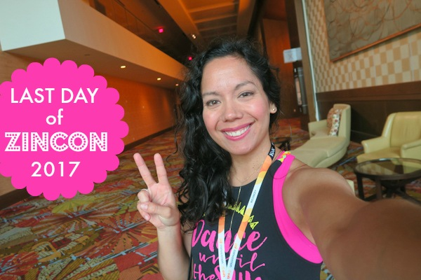 Zumba Convention 2017 VLOG: Day 4 (Reggaeton Rebellion and Flying Over NYC)