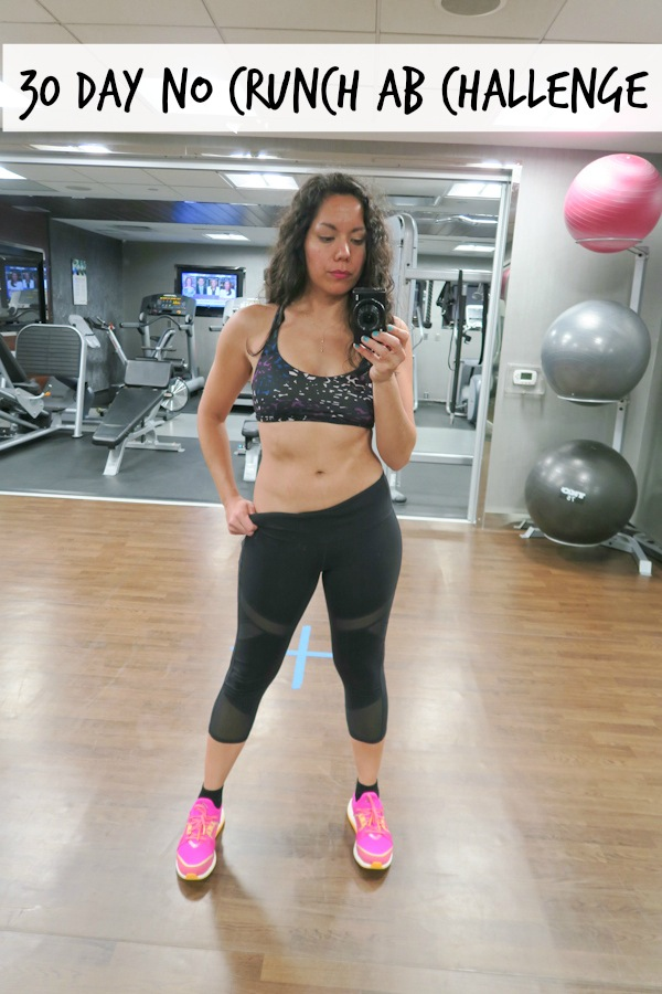 30 Day No Crunch Ab Challenge   Project Comeback   Eats