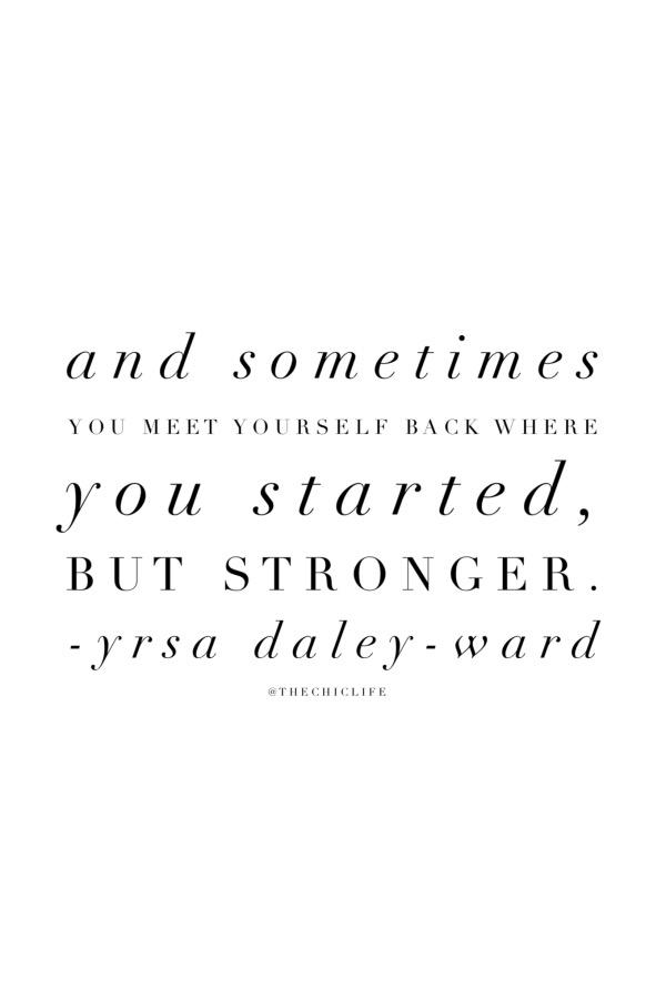 Starting Stronger