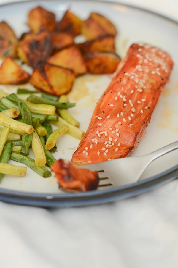 Tamari Honey Salmon Recipe   Quick and Healthy Marinade