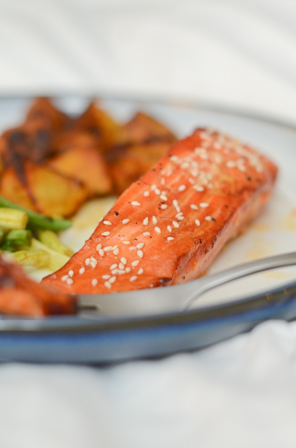 Tamari Honey Salmon Recipe