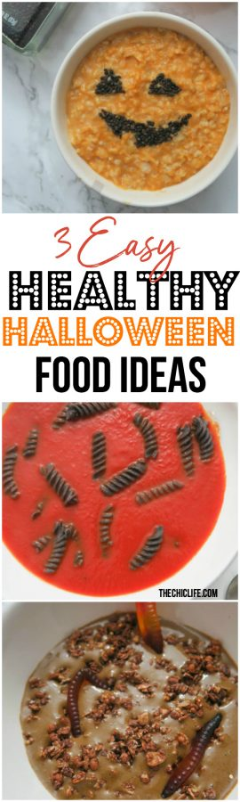 3 Healthy Halloween Food Ideas | Easy, Affordable, Fast, Lazy