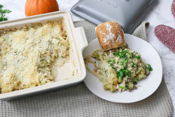 Healthy Turkey Tetrazzini Recipe | Clean Eats Style | Thanksgiving Leftovers