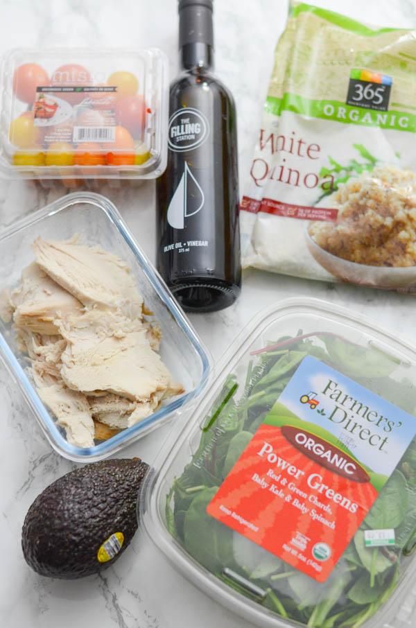Turkey Grain Nourish Bowl Recipe   Healthy Thanksgiving Leftovers Idea