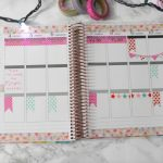 Christmas Washi Tape Only Plan With Me | Erin Condren Vertical LifePlanner