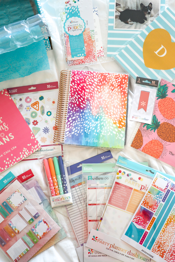 Erin Condren Unboxing and Giveaway 2018 | Vertical LifePlanner Flip Through