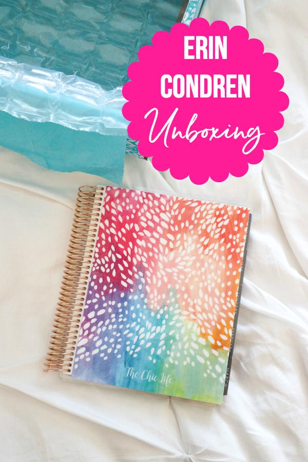 Erin Condren Unboxing and Giveaway 2018 | Vertical LifePlanner Flip Through