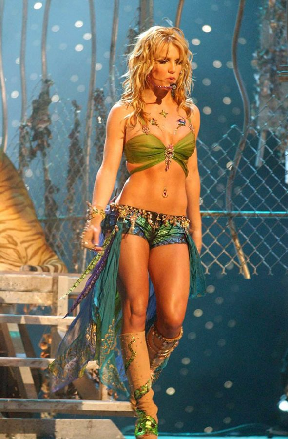 Britney Spears Goal Abs