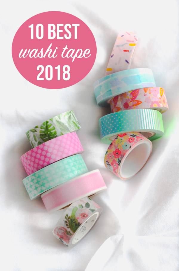 10 Best Washi Tape for Your Planner 2018 | Cute Planner Supplies