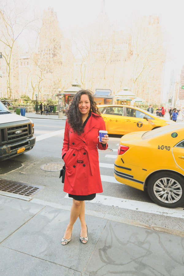 Spring Layers Outfits and NYC Restaurants