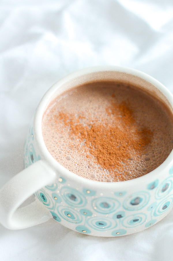Healthy Macadamia Maca Hot Chocolate Recipe