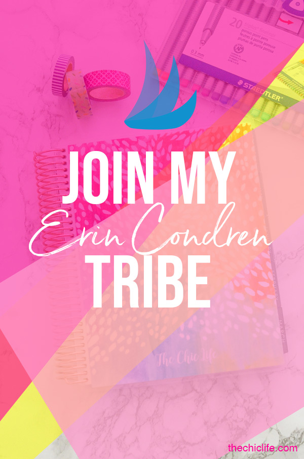 Join My Erin Condren Tailwind Tribe