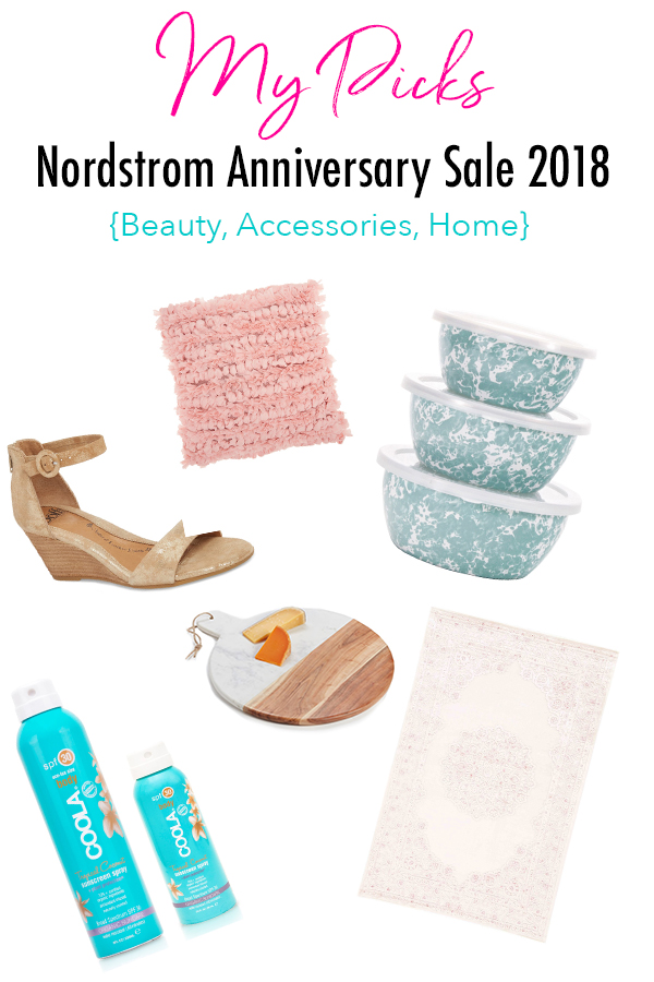 My Nordstrom Anniversary Sale Picks 2018: Beauty, Accessories (Including Shoes), and Home