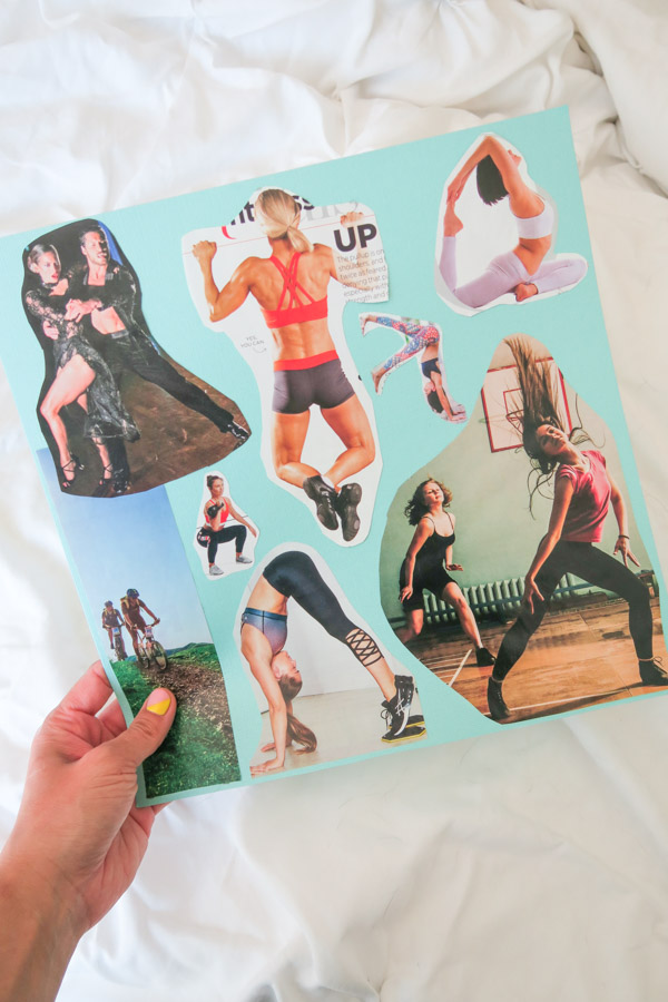 Vision Board Success: Injury Recovery / Fitness Goals