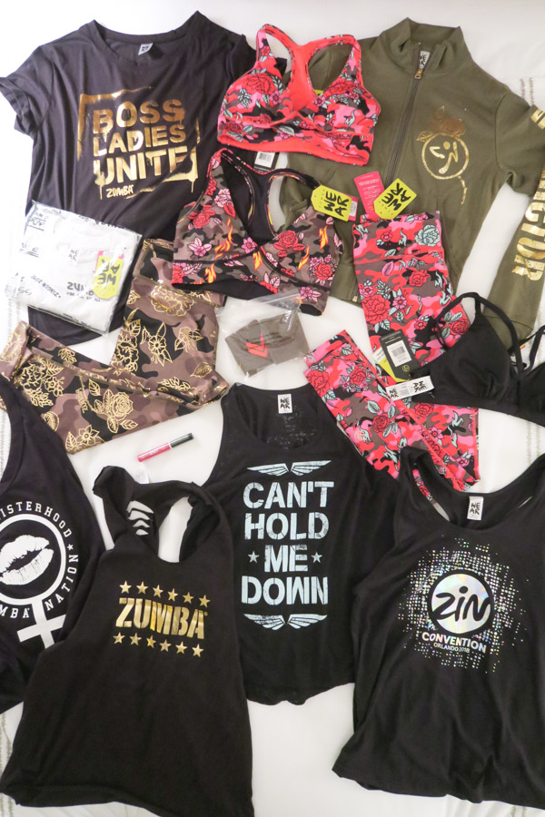 Zumba Convention 2018 VLOG: Day 0 (Travel and Zumba Wear Store Try-On & Haul)