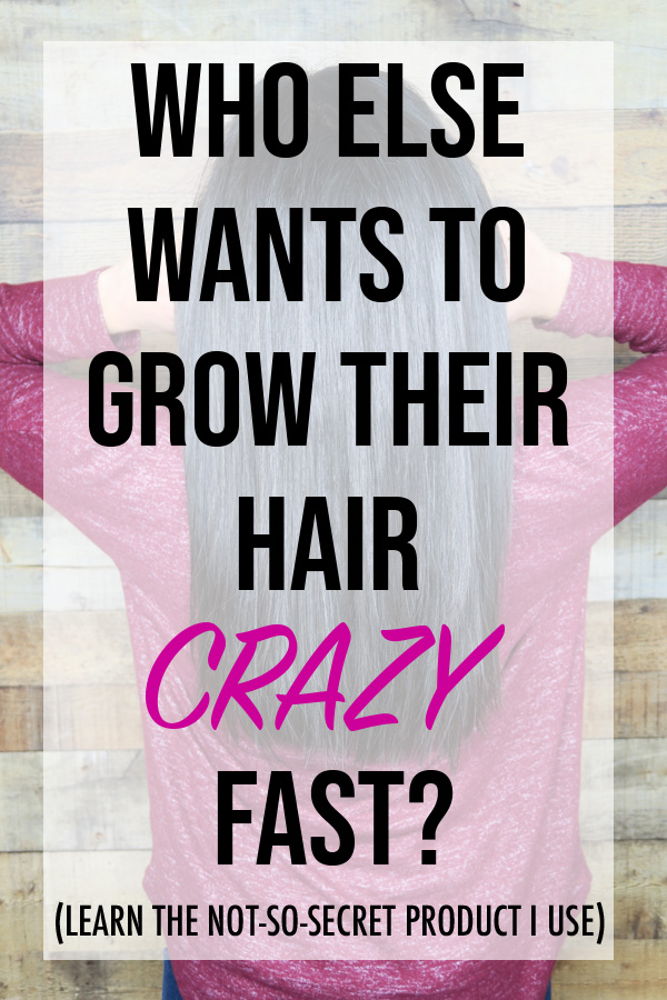 Who Else Wants to Grow Their Hair CRAZY Fast? Learn about this not-so-secret natural product I took that made my hair and nails grow very fast.