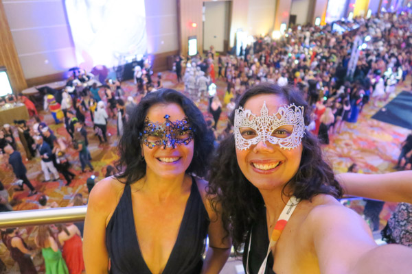 Zumba Convention 2018 VLOG: Day 3 Continued (Masquerade Theme Party)