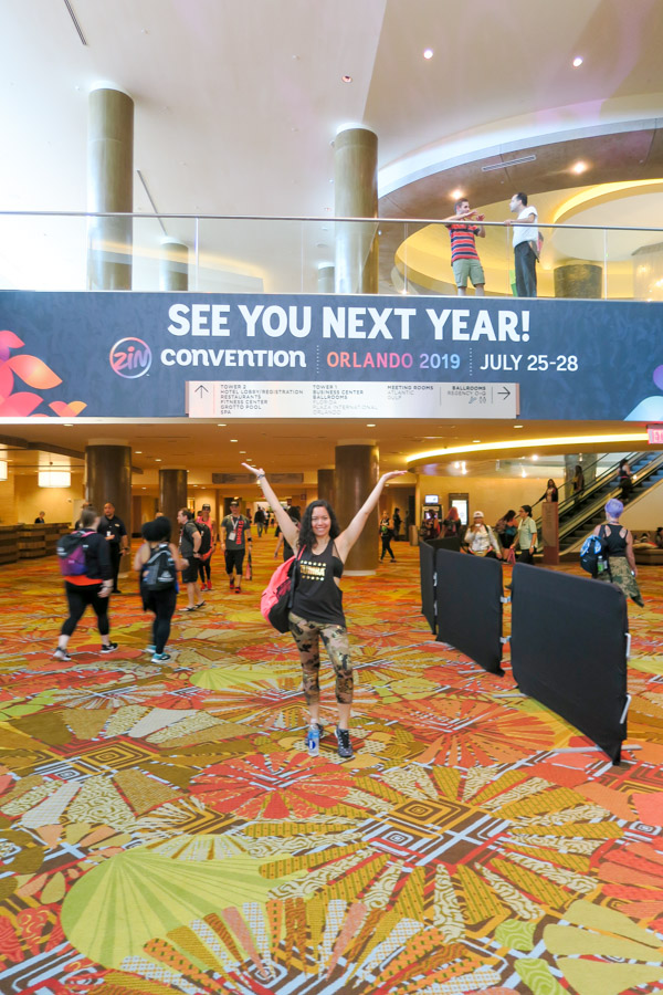 Get the Zumba Convention 2019 Dates and my tips for surviving and thriving at your first ZinCon! I've attended for the last 8 years, and I'm sharing my tips and tricks!