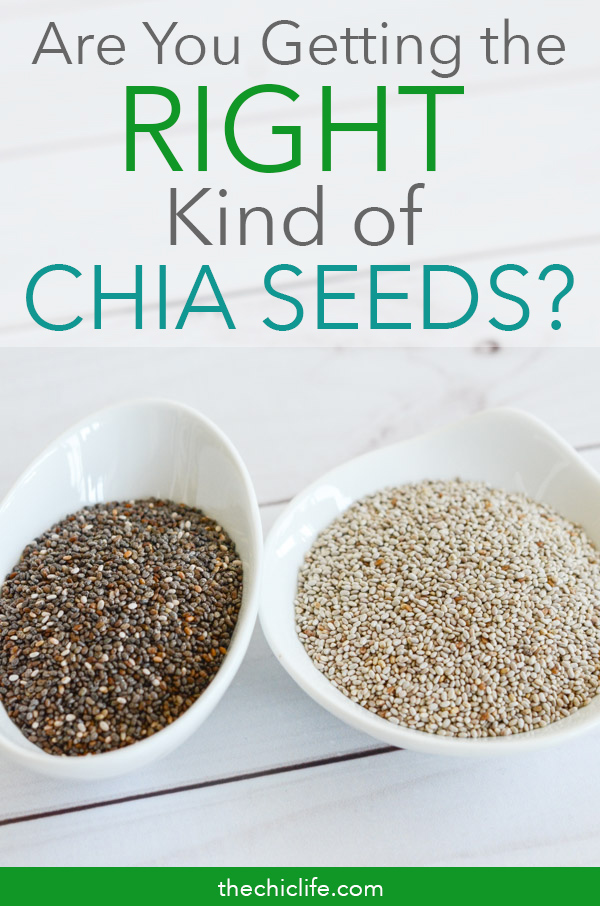 Are you getting the right kind of chia seeds? White, black, brown - which color is best and which color should you avoid. Is one more nutritious? Do they taste different? Click to learn more #health #healthandwellness #wellness #healthtips #naturalhealth #healthfacts