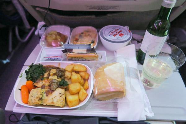 Emirates to Thailand   Plane Food