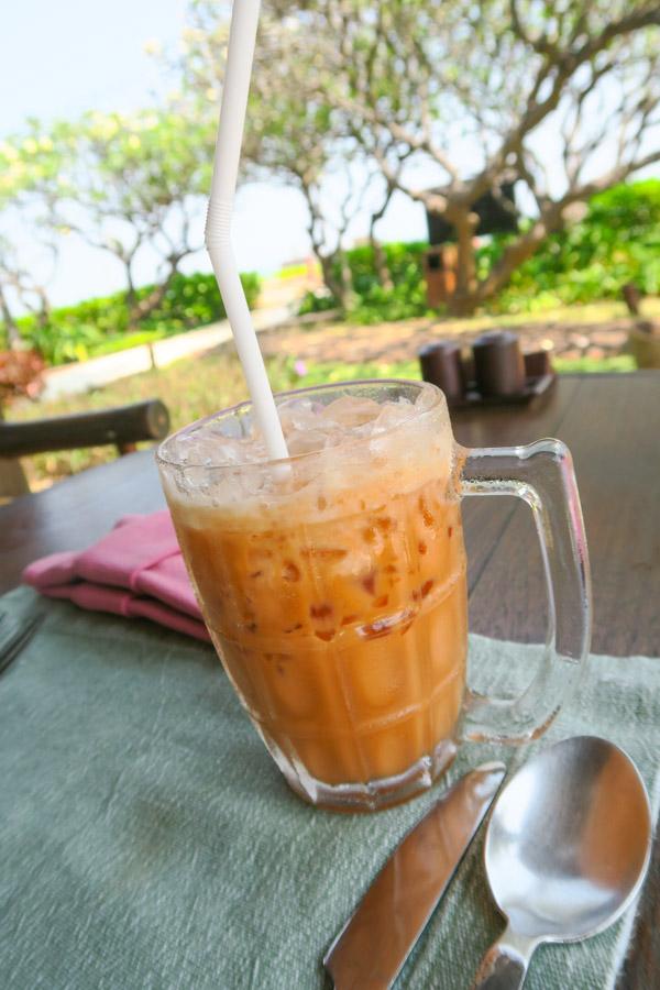 Thai Tea at Evason Hua Hin Thailand