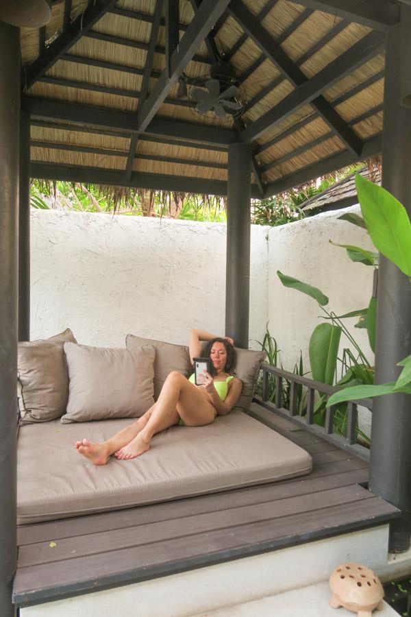 I got a luxury pool villa   Evason Hua Hin Luxury Resort Thailand