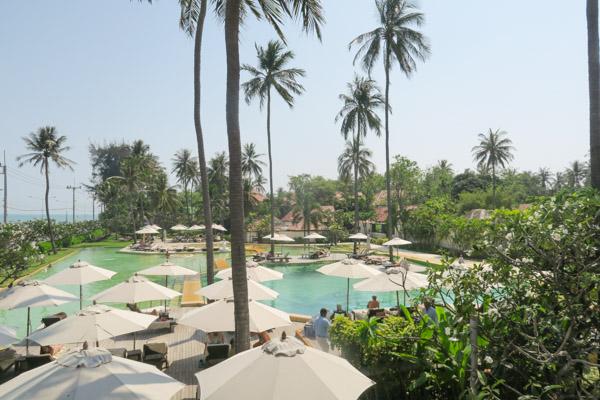 Pool Area | Evason Hua Hin Luxury Resort | Thailand Trip 2018 Part 1