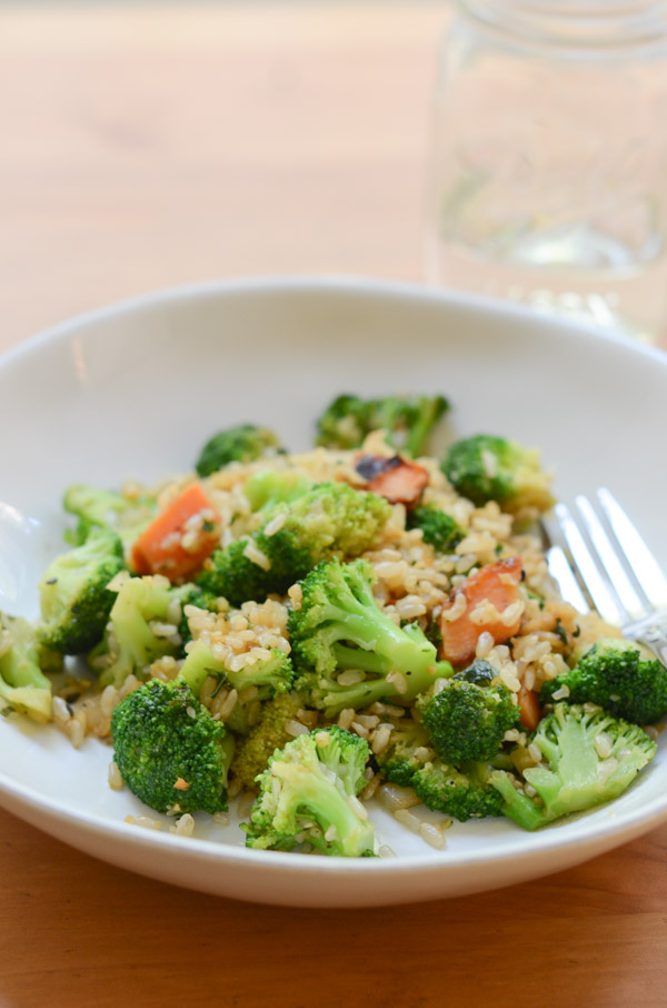 Lazy Low Carb Fried Rice Recipe (Still Made with Rice!)