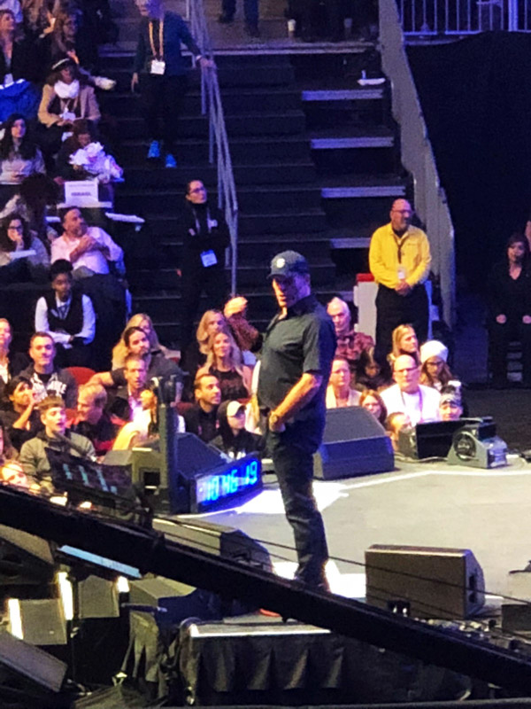 Tony Robbins himself at Tony Robbins Unleash the Power Within NYC Area 2018