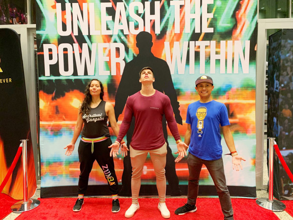 Making new friends at Tony Robbins Unleash the Power Within NYC Area 2018