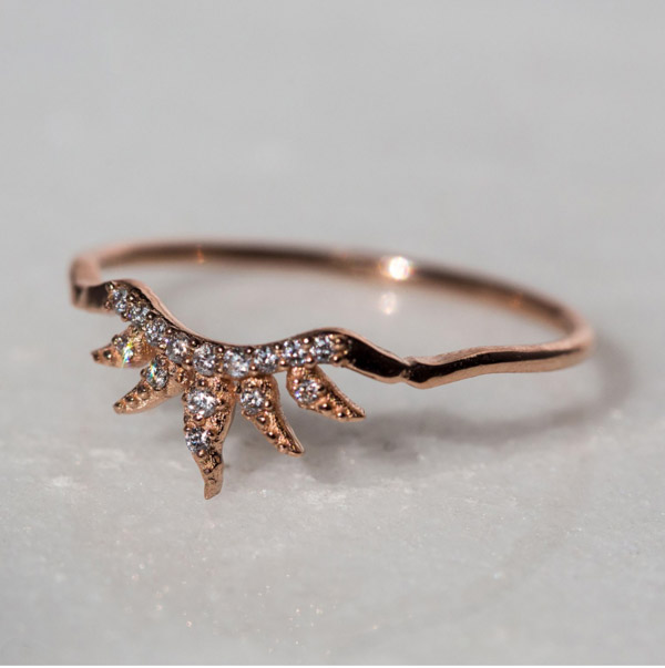Catbird Arabesque Ring by Sofia Zakia