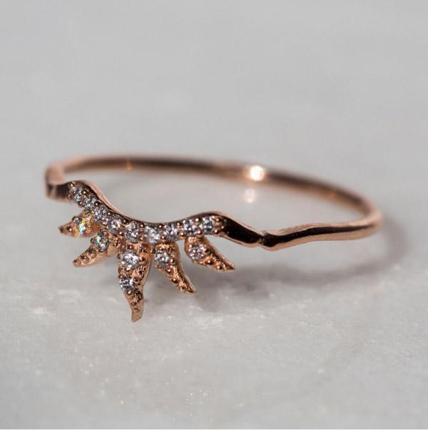 Catbird Arabesque Ring by Sofia Zakia