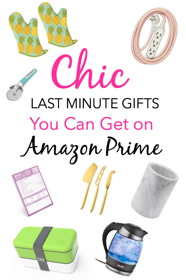 Chic Last Minute Gifts You Can Get on Amazon Prime 2018