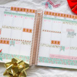 Click to see how I use only washi tape in my planner | Plan with Me: Christmas Washi Tape Only | Erin Condren Vertical 2018 #erincondren #lifeplanner #planner #planning #erincondren #plannerdecorations #plannerideas