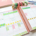 So you have your new planner, but you feel lost?! Where do you start? I felt the same way when I started, so I made a video for you. Click to see How to Decorate and Use Your Planner Spread with washi tape only. #erincondren #lifeplanner #planner #planning #erincondren #plannerdecorations #plannerideas