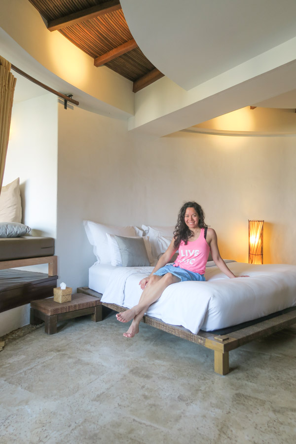 Inside the Ocean View Room at Aleenta Hua Hin Pranburi