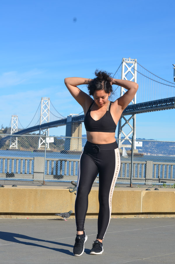 Click for my honest review of 101 Day Dreamers Sarah's Day Activewear with White Fox Boutique. How does this athletic clothing hold up? Is it comfortable? How does it fit? #activewear #athleisure #fitness #fitnessclothes
