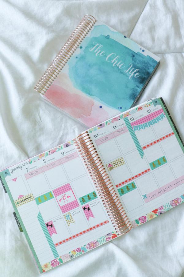 Win an Erin Condren LifePlanner! Plus 7 Reasons I Love the Erin Condren LifePlanner - why it's the best planner out there for getting organized in style. #planner #planning #plannerdecorations #plannerideas #happyplanner #erincondren #plannertips